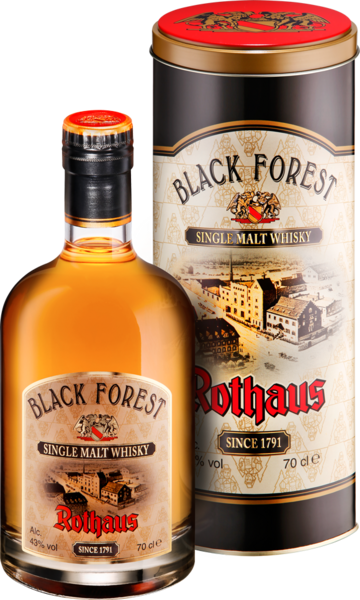 Rothaus Blackforest Single Malt Whisky 2010