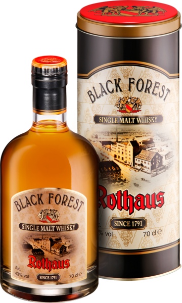 Rothaus Blackforest Single Malt Whisky 2014